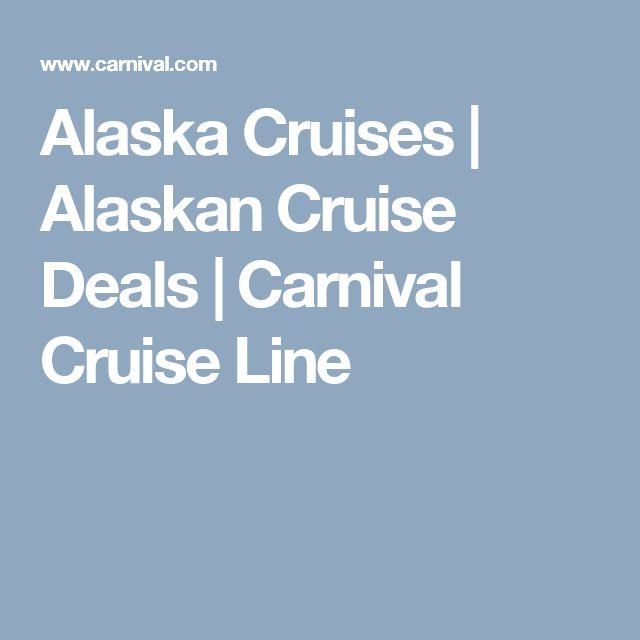 Alaska Cruises | Alaskan Cruise Deals | Carnival Cruise Line