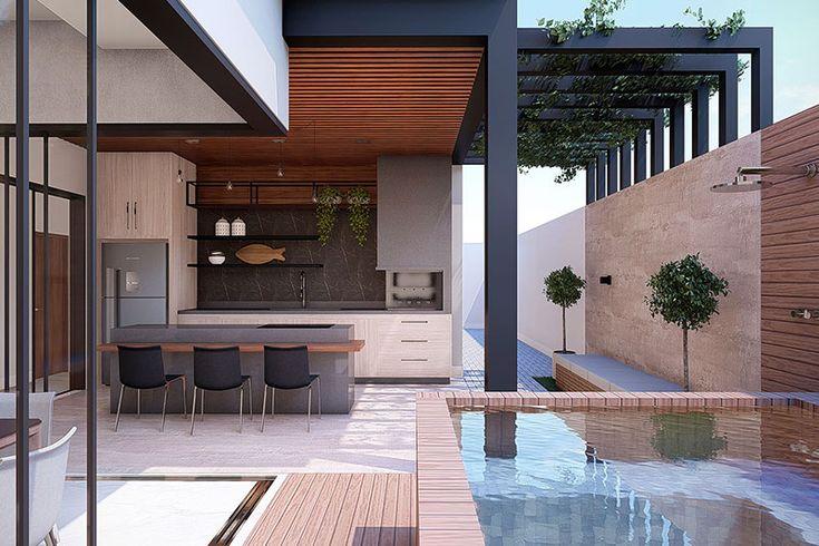 Projeto de casa com 3 suítes – Projetos de Casas, Modelos de Morad …   – Projetos casa