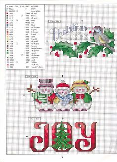 Point de croix : ❤️*❤️ cross stitch. Noël - Christmas cross stitch