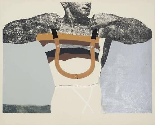 Adonis in Y Fronts, 1963. Richard Hamilton
