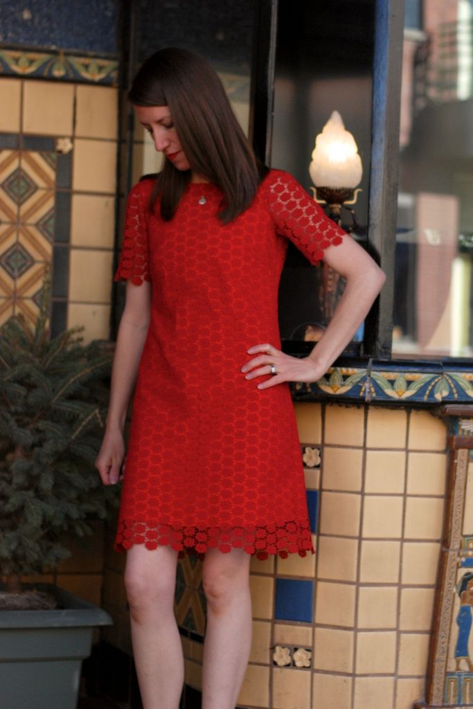 Christmas in April: Another Colette Laurel Dress!