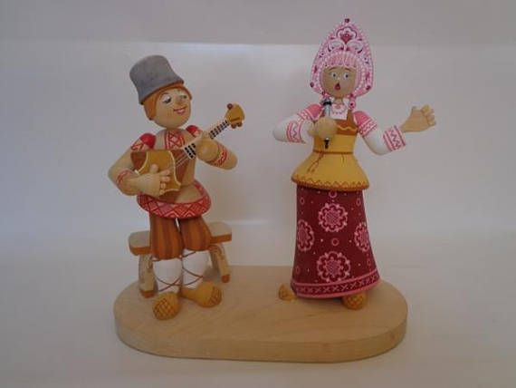 "US$45.00 Composition from wood ""Russian song"". 9"" х 4,5"" х 8,5"". (215х110х220см.). The song is inextricably linked with the life of the Russian people. In grief, joy, at home, at work, a Russian person is always happy to sing. If you have never heard Russian songs, buy this song and you will definitely want to find and listen to Russian folk songs. we want to present a large number of people with the history and folklore of the Russian people."