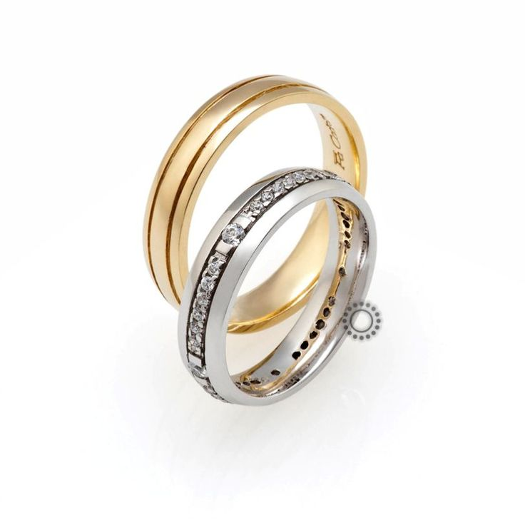 Βέρες γάμου Facadoro 29Α/29Γ - Ένα διαχρονικό σχέδιο από βέρες FaCadoro αλλά και ένα πολύ όμορφο γυναικείο ολόβερο δαχτυλίδι   Κόσμημα ΤΣΑΛΔΑΡΗΣ #βέρες #βερες #γάμου
