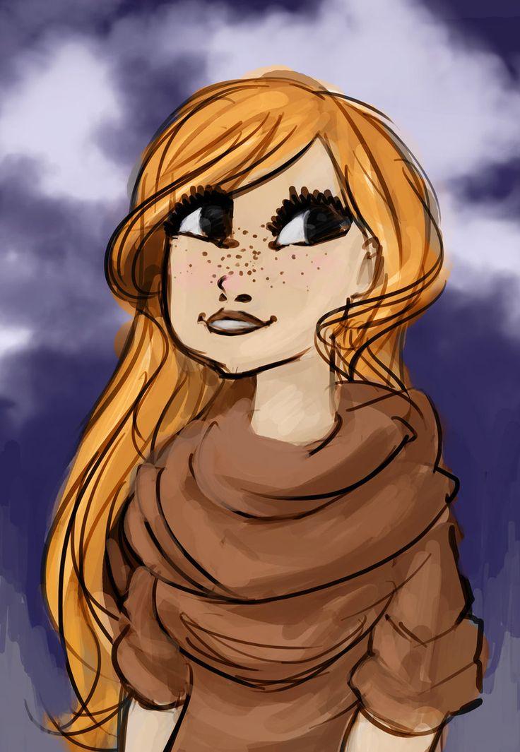 Portrait - Redhead in Autumn by HARuNIS.deviantart.com on @DeviantArt