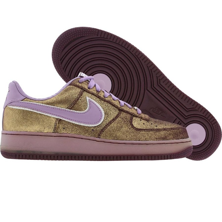 Nike Womens Air Force 1 07 Seasonal Braun 818594 100