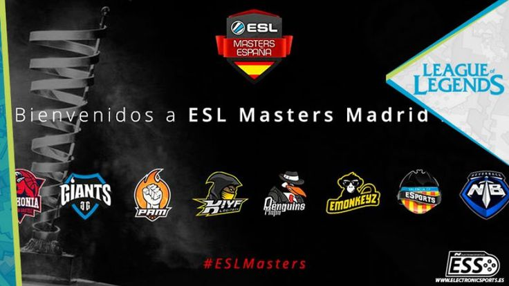 Enfrentamientos ESL Masters Madrid 2016