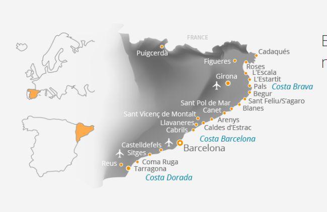 Catalan Holidays - Costa Brava | Costa Dorada I Alquiler vacacional España , Somos especialistas en alquiler vacacional de atractivas casas de vacaciones en Costa Brava, Costa Maresme, Costa Dorada y Costa Barcelona.