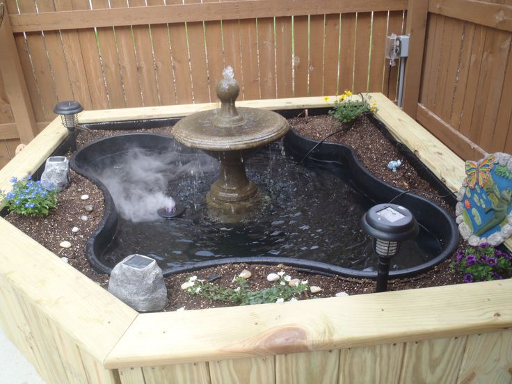 Water Fountains Above Ground Pond And Projects On Pinterest