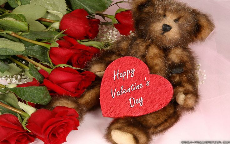 Rose Happy Valentines Day ecard