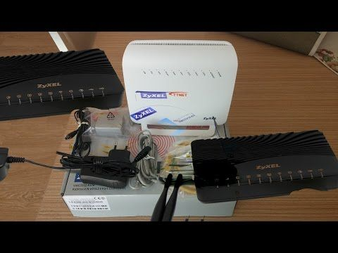 ZyXEL VMG3312 B10B Kablosuz N ADSL2+/ VDSL2--4 Port USB Modem Router Unb...