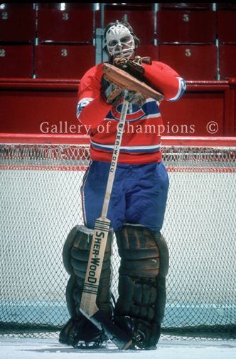 # 26 of 100 greatest NHL player Ken Dryden pose