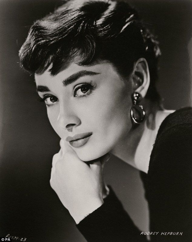 The exhibition about Audrey's life will include pictures taken during her days working as a model in London - as well as this image, which was a publicity shot for 1954's Sabrina