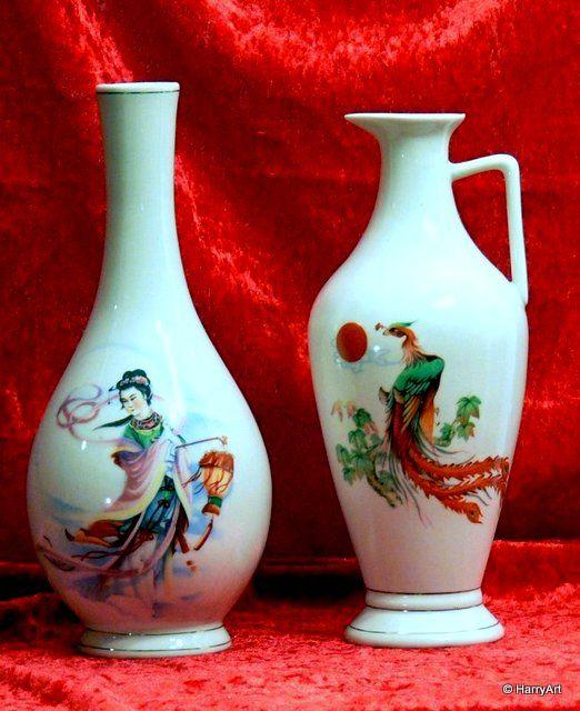 Taiteellisia viinipulloja Kiinasta !!!