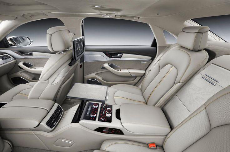 A sedução do banco de trás - Audi A8L W12