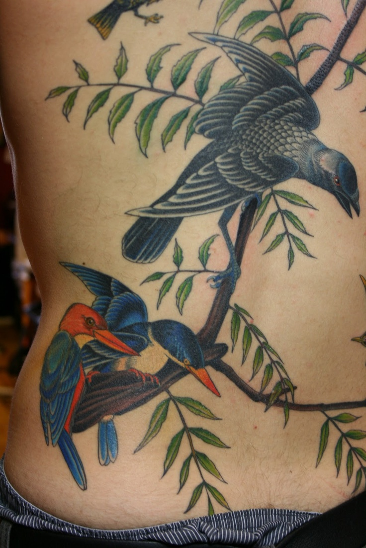 Daniel Albrigo NYC: Walton Ford Tattoo