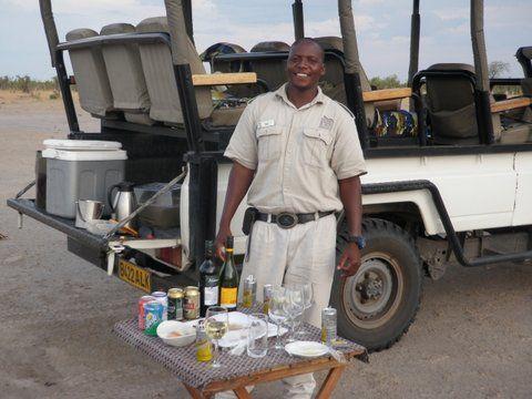 Jenny's Botswana Educational - Sundowner time, Botswana