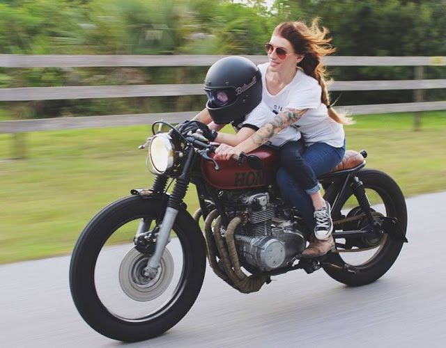Go! #riding #motorcycles #motos | caferacerpasion.com