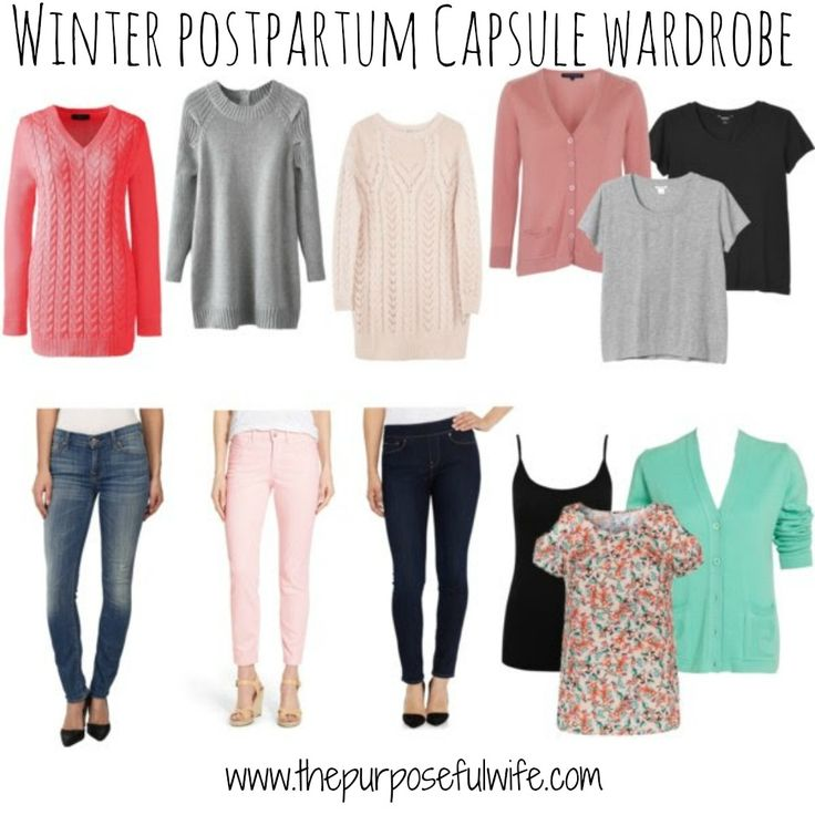 Inspiration for dressing your post-baby body. Feel cute and comfortable in your new skin!