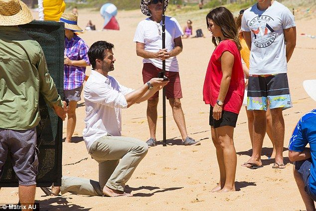 SPOILER ALERT: Ada Nicodemou spotted filming scenes for Aussie soapie Home And Away as her...