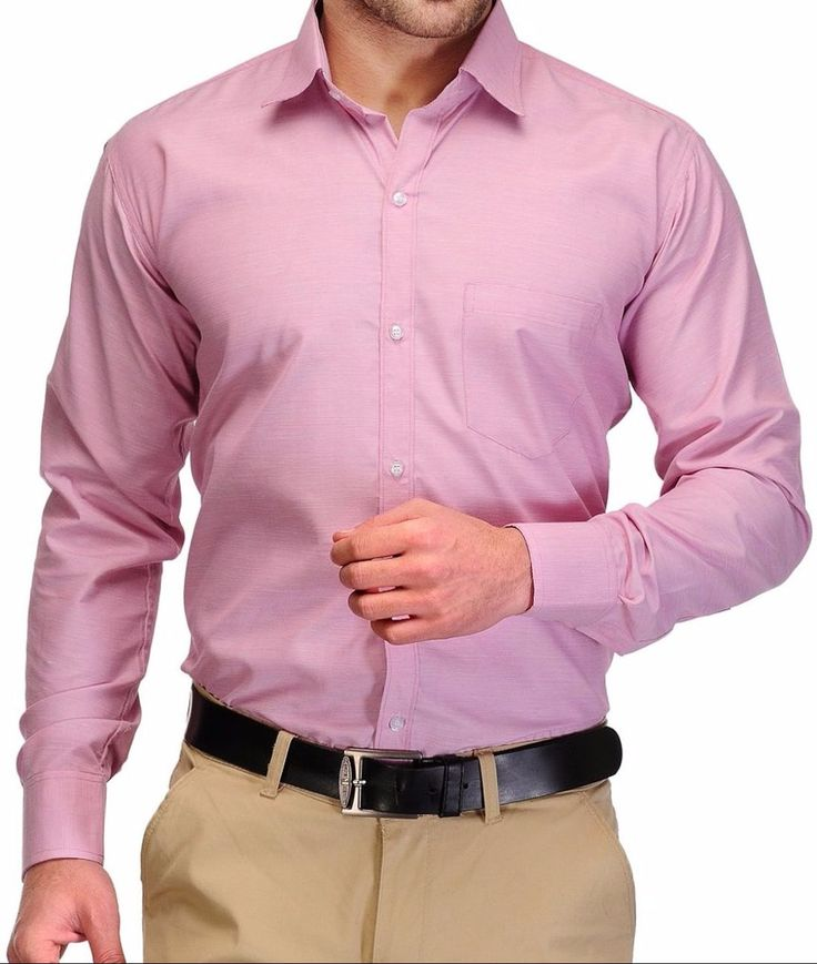 Formal Plain Cotton Shirts online - Exclusive Plain Shirts shopping online with best offers at:- http://trendyug.in