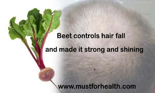 Beet controls hair fall and made it strong and shining  // Hair fall is very common problem of present. It is estimated that every 6 out of ten persons are suffering from hair fall or some other...