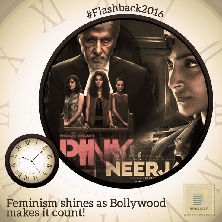 It has been a good year in #Bollywood for #women empowering plots like #Pink, #Neerja and #AIGTheFilm.