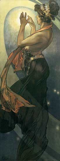 North Star - Alphonse Mucha  (my favorite artist - creator of Art Nouveau movement)