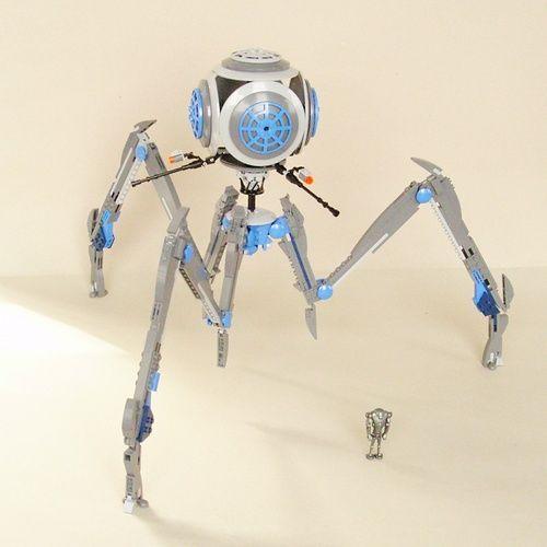 Separatist/Techno-Union OCTUPTARRA 'Magna' Tri-Droid: A LEGO® creation by separatist sympathiser : MOCpages.com