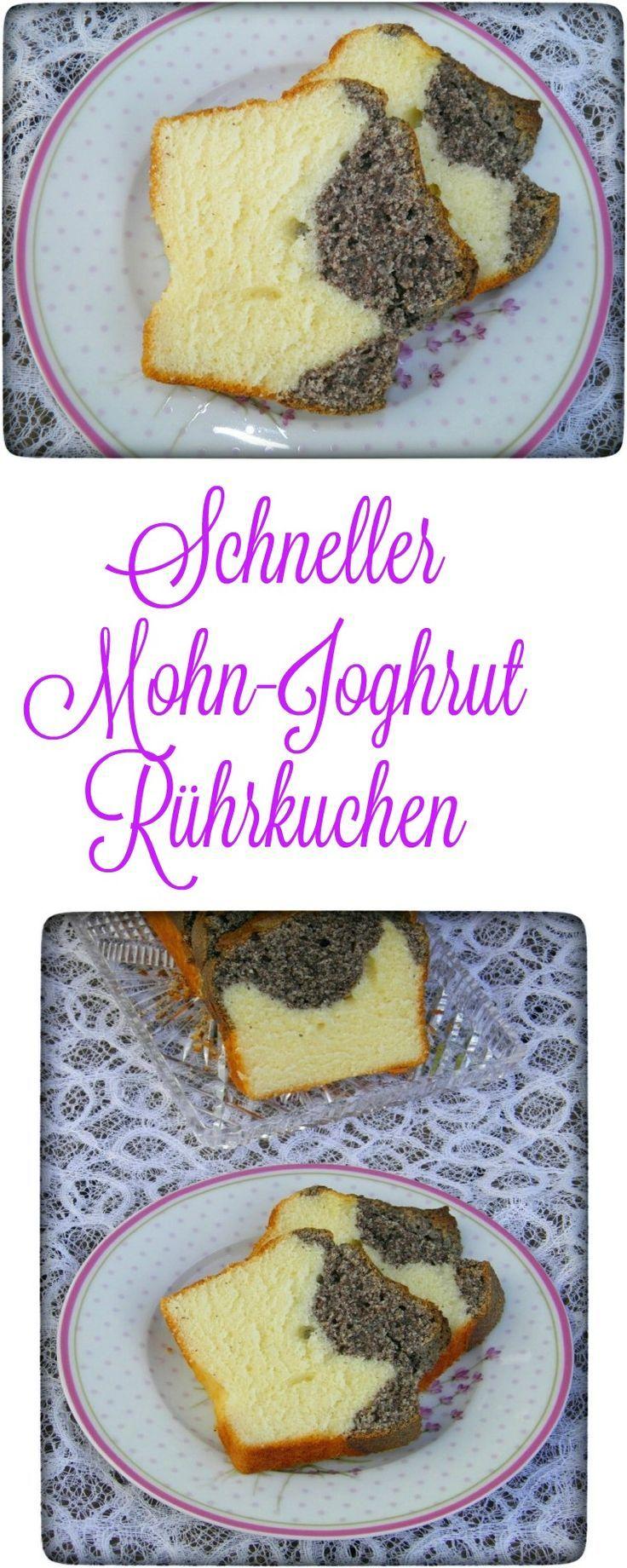 Mohn-Joghurt Kuchen ist wirklich ein Blitzkuchen und dazu so lecker. Wenn sich Besuch ankündigt oder ich mal wieder Lust auf Mohn habe, ist dieser Kuchen wirklich meine erste Option. Er ist in 5 Minuten fertig und muss nur noch in den Backofen geschoben werden. Sowohl mit Thermomix als auch ohne sehr schnell zubereitet.