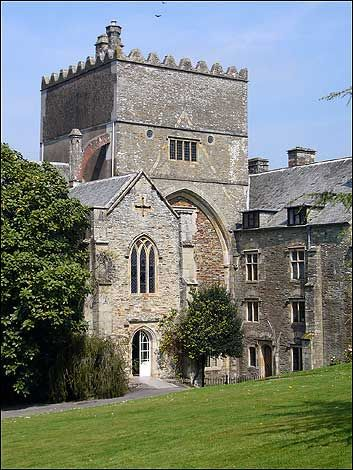 Buckland Abbey in Devon, UK is the former home of Sir Francis Drake