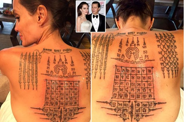 Angelina Jolie bryster thai luder