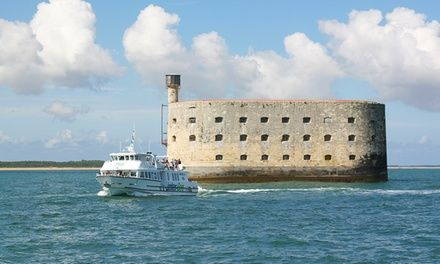 Croisières Inter-îles à La Rochelle : Découverte de Fort Boyard et l'Île d'Aix en bateau: #LAROCHELLE 20.00€ au lieu de 40.00€ (50% de…