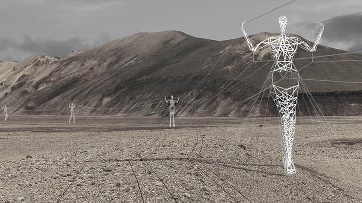 Choi & Shine Architects designed these amazing people transmission towers.  If all electrical towers looked like this I wouldn't mind them in my landscape photos.  :)