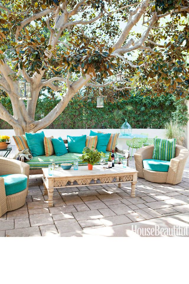10 gorgeous outdoor rooms for summer relaxation for Ad garden rooms