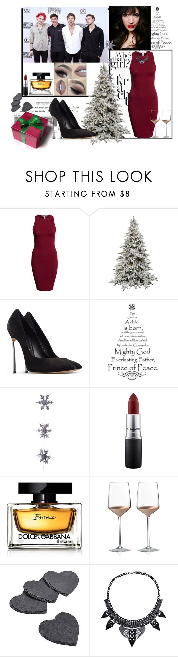 """""""Untitled #113"""" by allofme555 ❤ liked on Polyvore featuring NLY Trend, Casadei, IVI, East of India, MAC Cosmetics, Dolce&Gabbana and Wedgwood"""