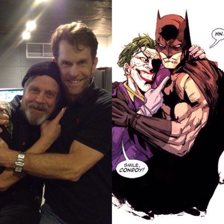 Love it! Mark Hamill and Kevin Conroy