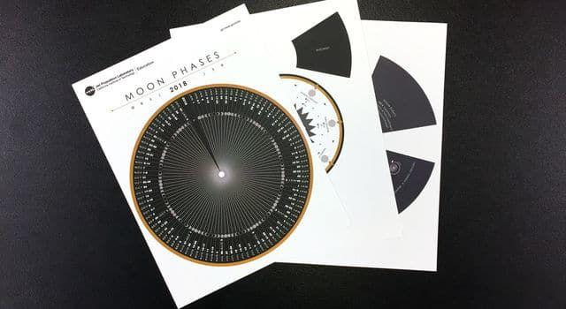 NASA DIY Moon Calculator and Calendar