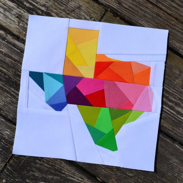 Sew Fresh Quilts: Texas - We Love You!