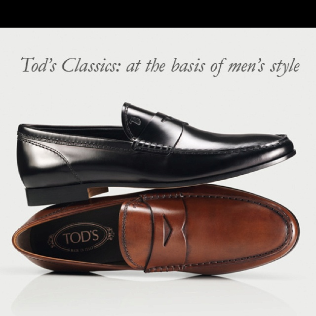 I love Tod's shoes!!