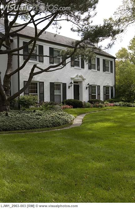 8 Best Images About White House Black Shutter On Pinterest