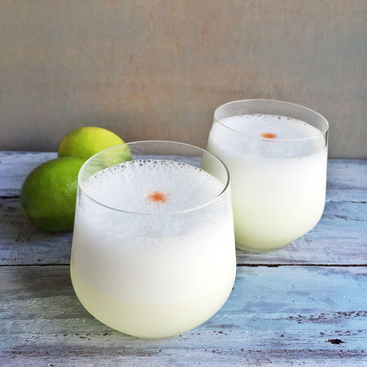 Pisco Sour!! This is Peru's national drink. Pisco is to Peru as Tequila is to Mexico. Nowadays I don't drink very often, but I always have a soft spot for Pisco sours.  Reminds me of the times I would go out to...