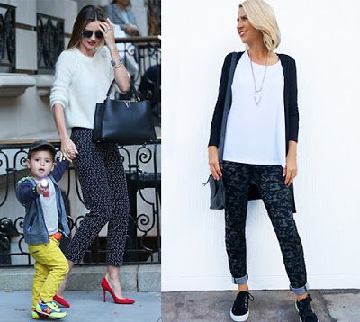 Miranda Kerr Get the Look... Our 5 Favourite Fashionista Mums