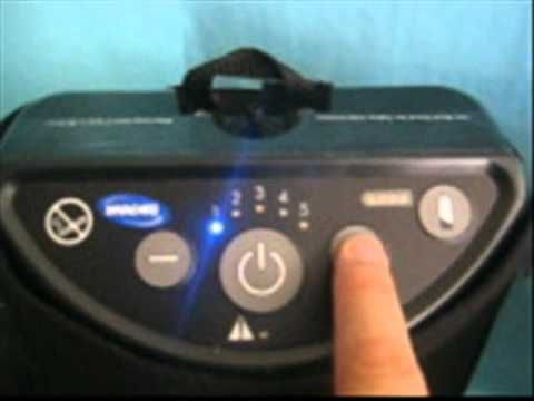 Concentrador de Oxigeno Invacare XPO 2