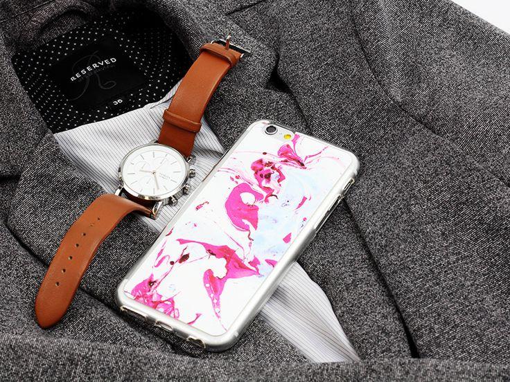 Jeden z naszych ulubionych wzorów z marmurkowej kolekcji etui na telefon. Więcej na http://www.etuo.pl/marble-collection.html