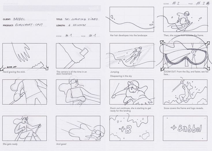 Best Storyboarding Images On   Sketches Storyboard