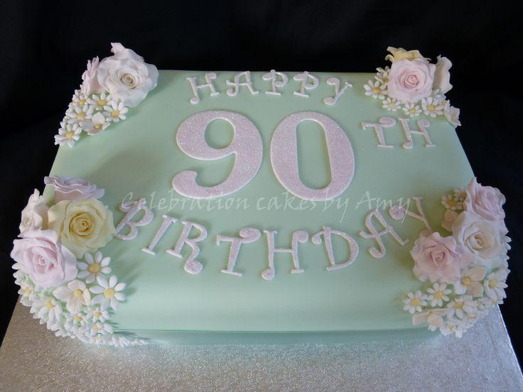 Best 25+ 90th birthday cakes ideas on Pinterest
