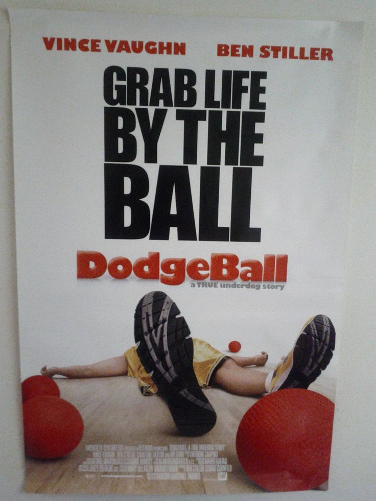 Dodgeball Poster $26.50 (Plus Shipping and Handling)