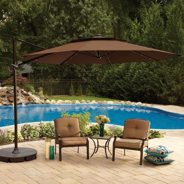 Best 25 Large patio umbrellas ideas on Pinterest Large outdoor