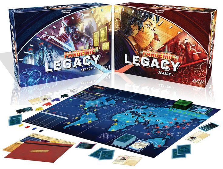 La Mazmorra de Pacheco juega Pandemic Legacy