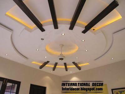 false ceiling pop designs hidden LED lights
